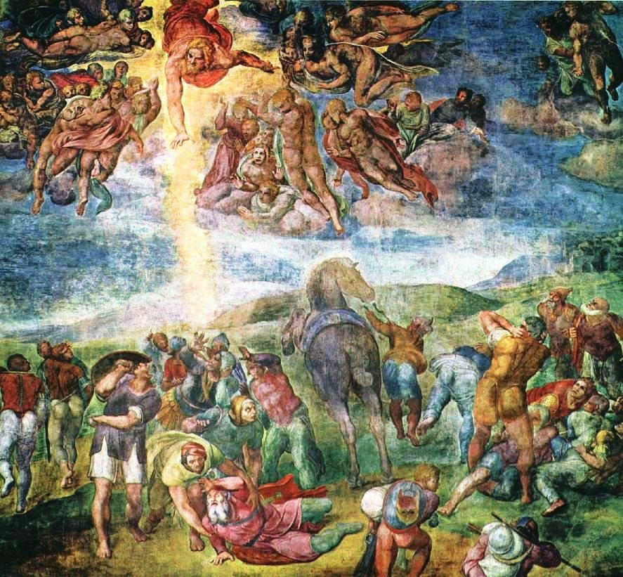 Conversion of Saint Paul Michelangelo Buonarroti