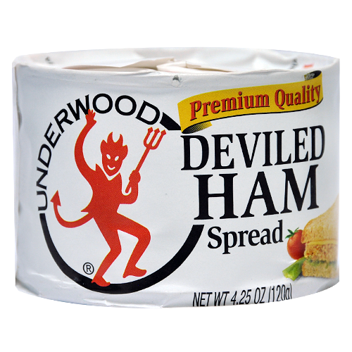 underwood deviled ham spread 4 5oz