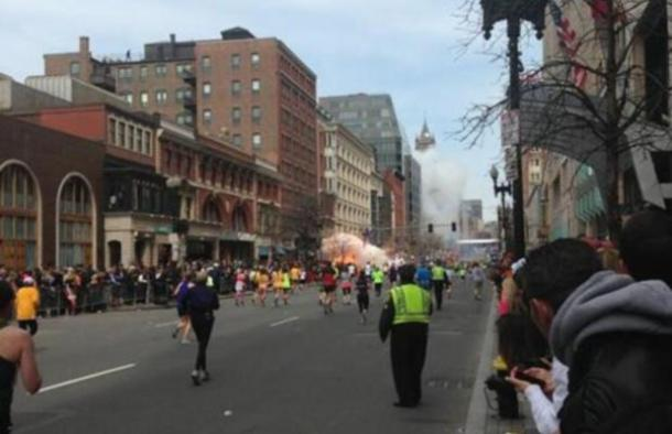 Boston bombs